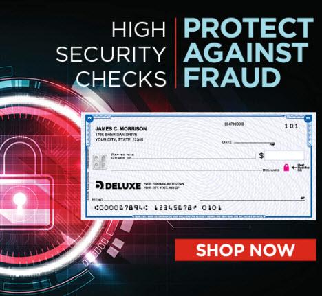 Personal Checks Order Deluxe Checks